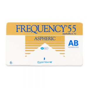 Frequency-55-Aspheric-sh עדשות מגע חודשיות akoof-optic